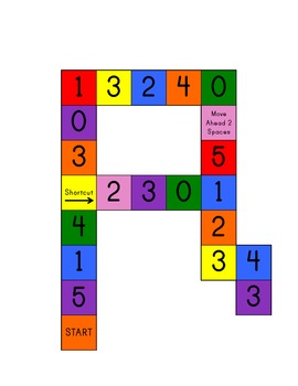 Number Identification Game 0-5