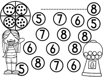 Number Identification Game 1-10
