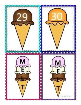 Number Identification Game 1-30 (Melt)