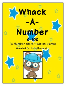 Number Identification Game (Whack-a-Number)