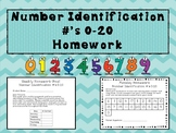 Number Identification Homework