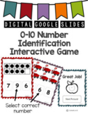 Number Identification Interactive Distant Learning Google