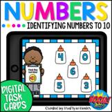 Number Identification Kindergarten Boom Cards