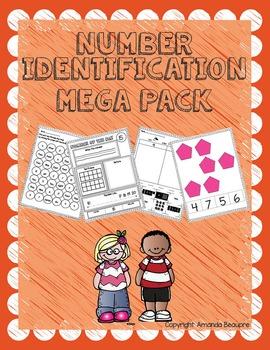 Number Identification Mega Pack