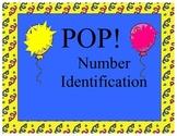 Number Identification POP! Game