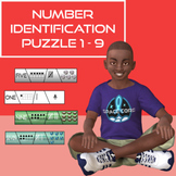 Number Identification Puzzles 1 - 9