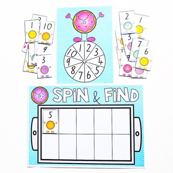 Number Identification - Spin and Find