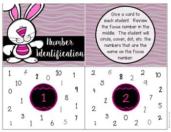 Number Identification - Task Cards