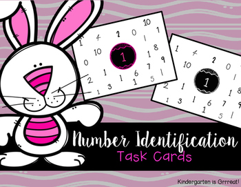 Number Identification - Task Cards