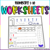Numbers 1-10 Worksheets