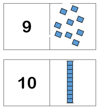 Number Identification Worksystems (4 different task boxes with variations)