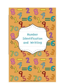 Number Identification and Number Writing Set