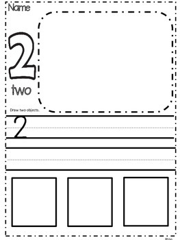 Number Identification / kindergarten