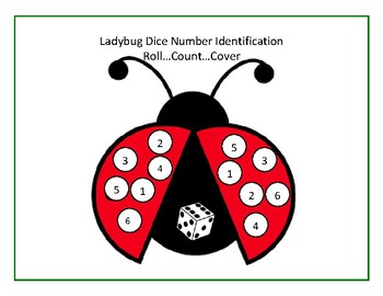 Number Identification with Dice