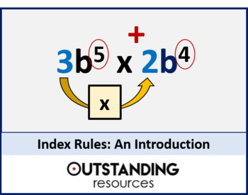 Number: Index Notation 1 (Index Rules) + Activity