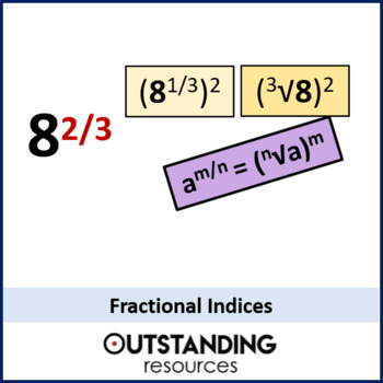 Number: Index Rules 3 - Fractional Indices (+ resources)