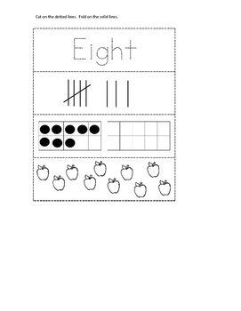 Number Interactive Journal Pages 1-20
