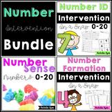 Number Intervention Bundle