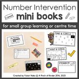 Number Intervention Mini Books