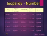 Number Jeopardy 5th - 6th Grade