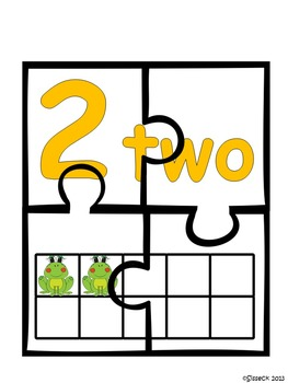 Number Jigsaw Puzzles
