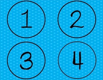 Math Game: Number KABOOM: Practicing Saying and Recognizing Numbers from 0 - 100