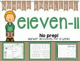 Number Knowledge: Number 11 (NO PREP!)