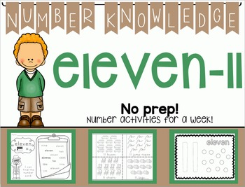 Number Knowledge: Number 11 (NO PREP!)
