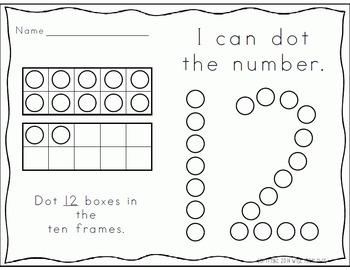 Number Knowledge: Number 12 (NO PREP!)