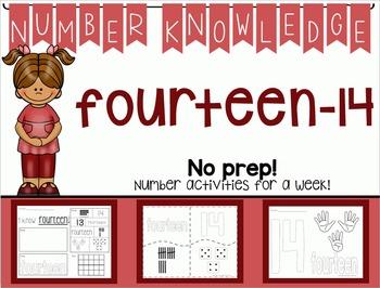 Number Knowledge: Number 14 (NO PREP!)