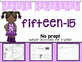 Number Knowledge: Number 15 (NO PREP!)