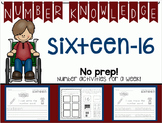 Number Knowledge: Number 16 (NO PREP!)