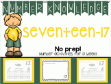 Number Knowledge: Number 17 (NO PREP!)