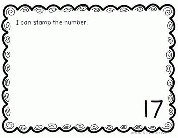 Number Knowledge: Number 17 (NO PREP!)