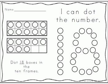 Number Knowledge: Number 18 (NO PREP!)
