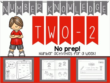 Number Knowledge: Number 2 (NO PREP!)