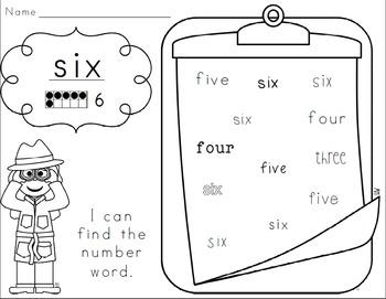 Number Knowledge: Number 6 (NO PREP!)