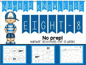 Number Knowledge: Number 8 (NO PREP!)