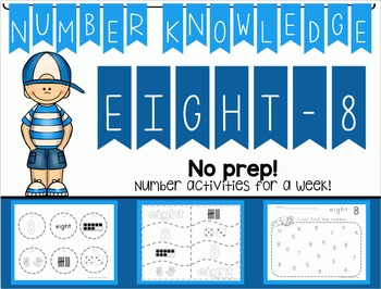 Number Knowledge: Number 8 (NO PREP!)