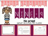 Number Knowledge: Number 9 (NO PREP!)
