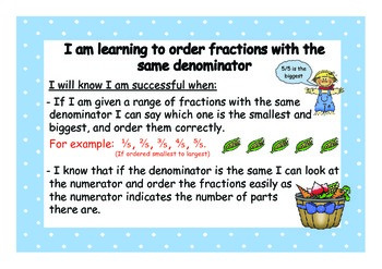Number Knowledge WALTs and Success Criteria