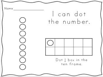Number Knowledge: Number 1 (NO PREP!)