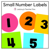 Small Number Labels