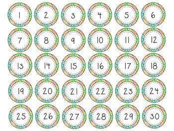 Number Labels