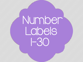 Number Labels