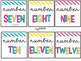 Number Labels {Editable and Brights}