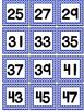 Number Labels Chevron 1-48
