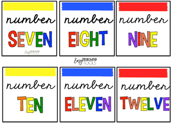Number Labels {Primary}
