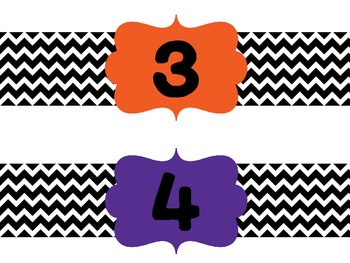 Number Labels for Student Buckets