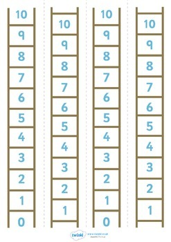 Number Ladder (0-10)